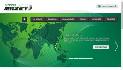 Site internet de Transport Laperriere - Groupe Mazet