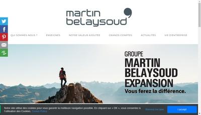 Site internet de Martin Belaysoud Expansion