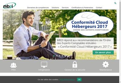 Site internet de Mb2I