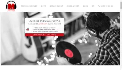 Site internet de France-Vinyle