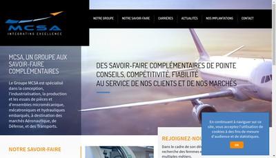 Site internet de Mcsa