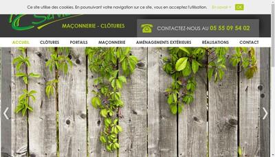 Site internet de Mc Services