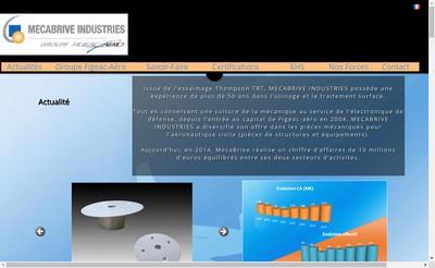 Site internet de Mecabrive Industries