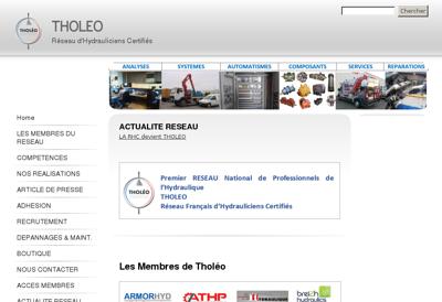 Capture d'écran du site de Garage Victor Hugo
