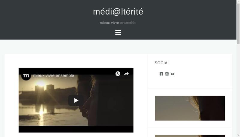 Capture d'écran du site de Medi@Lterite