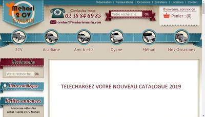 Site internet de Checy Negoce Auto 45