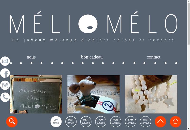 Site internet de Meli-Melo