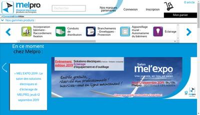 Site internet de Melpro