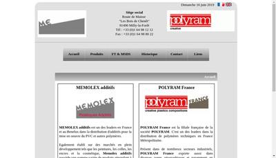 Site internet de Polyram France