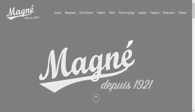 Site internet de Etablissements Magne