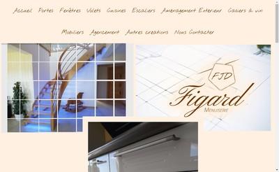 Site internet de Menuiserie Figard