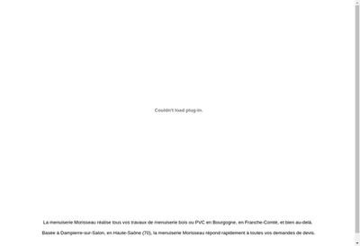 Site internet de SARL Morisseau