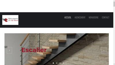 Site internet de Menuiserie de la Nive
