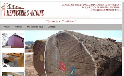 Site internet de Menuiserie Saint Antoine
