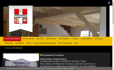Site internet de Tambe Papet
