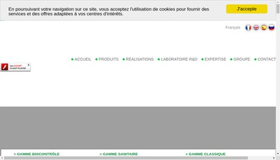 Site internet de Mercier Freres