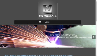 Site internet de Metal-Mobil