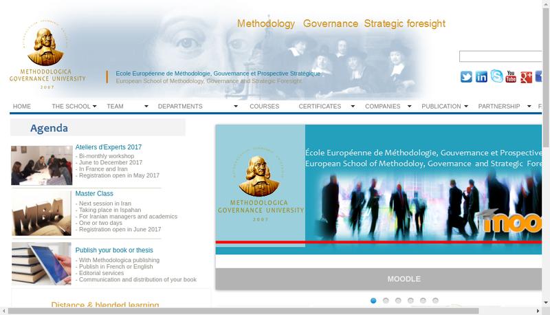 Site internet de Europerse
