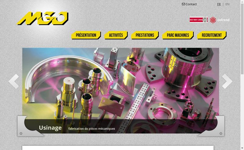 Site internet de MGO Lepaul SA