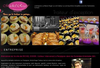 Capture d'écran du site de Dom Miquel
