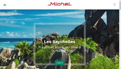 Site internet de Michel Voyages