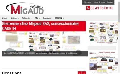Site internet de Migaud SAS