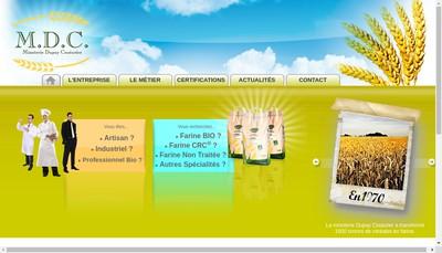 Site internet de Minoterie Dupuy-Couturier