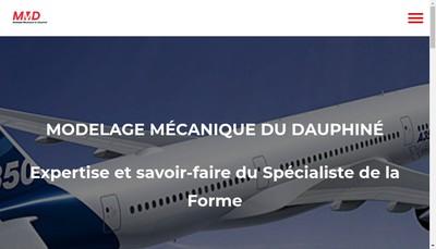 Site internet de Modelage Mecanique du Dauphine