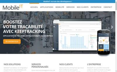 Site internet de Mobile It