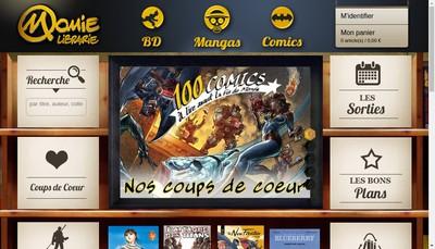 Site internet de Librairie Momie