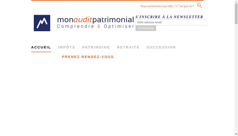 Capture d'écran du site de Herca