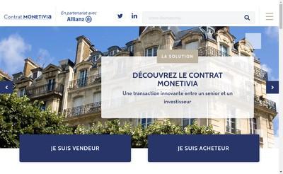 Site internet de Monetivia
