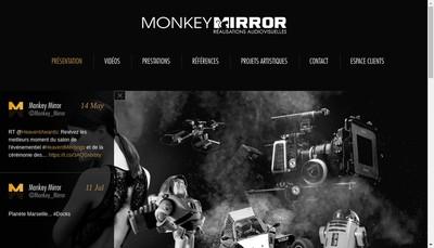 Site internet de Monkey Mirror
