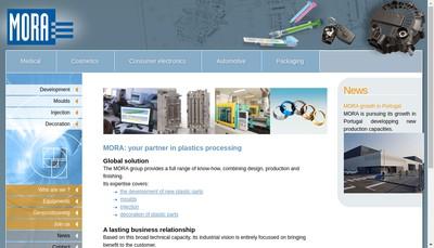 Site internet de Mora International