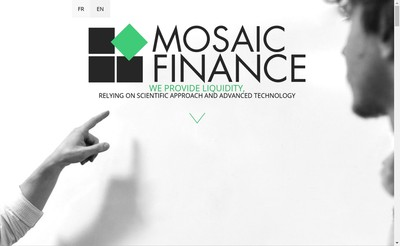 Site internet de Mosaic Finance