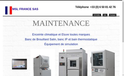 Site internet de Msl France