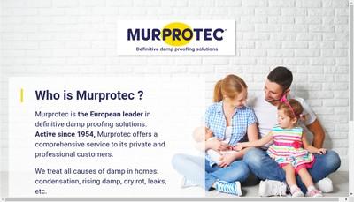 Site internet de Murprotec Service