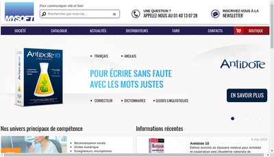 Site internet de Mysoft