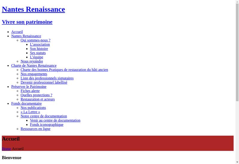 Capture d'écran du site de K Gourmand