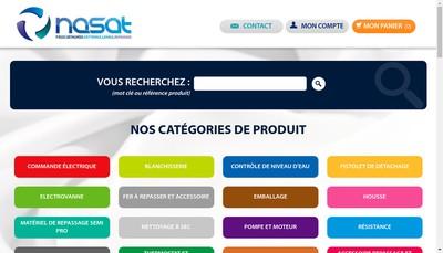 Site internet de NASAT