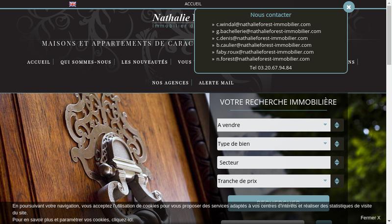 Site internet de Nfim