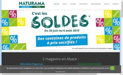 Site internet de Naturama