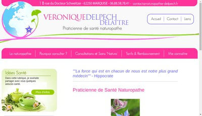 Site internet de Veronique Delpech