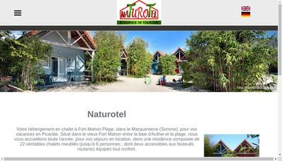 Site internet de SARL Naturotel