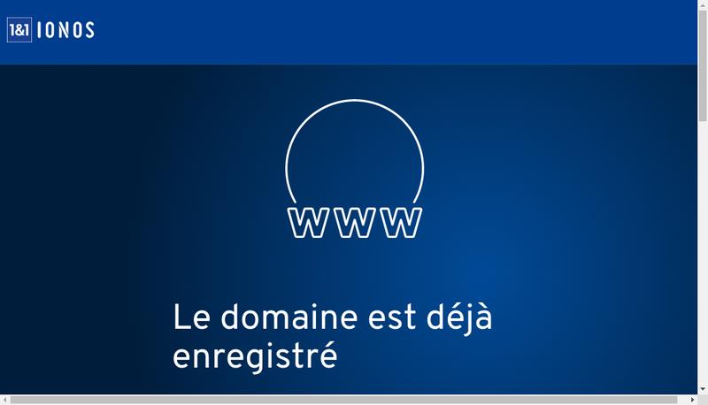 Capture d'écran du site de Necimpar