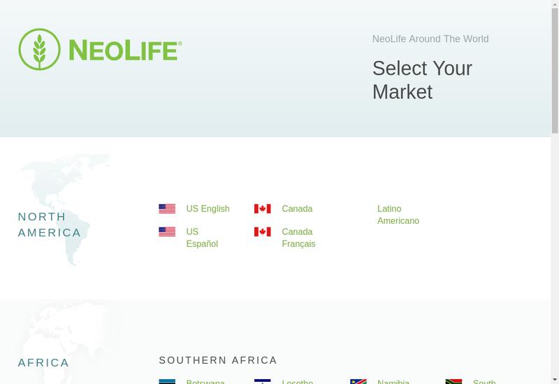 Capture d'écran du site de Gnld International