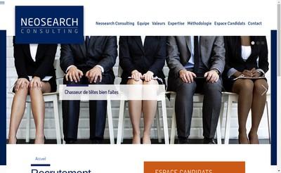 Site internet de Neosearch Consulting