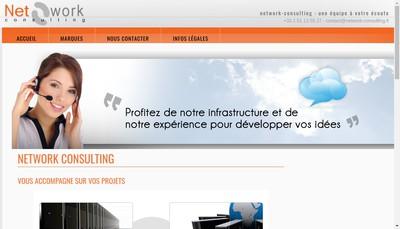 Site internet de Host Net Agency