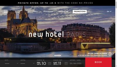 Site internet de Hotel New-Hotel Of Marseille Restaurant Victor Cafe
