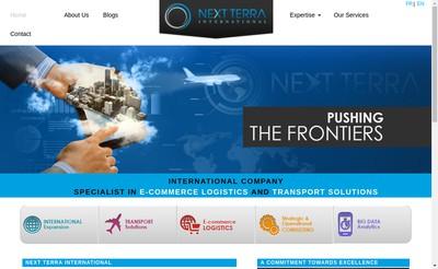 Site internet de Next Terra International